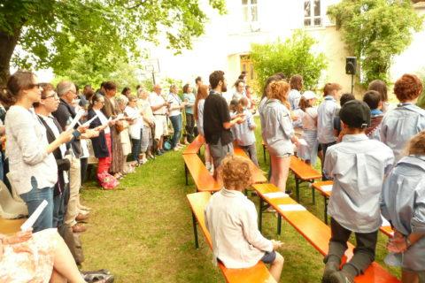 Fête d'été de la paroisse Lyon Rive Gauche : culte