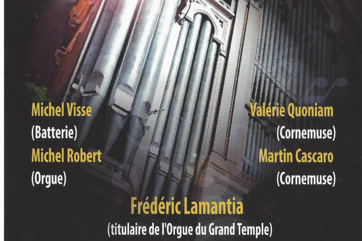 25 ans, l'orgue Jubile au Grand Temple