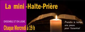 Mini-Halte prière